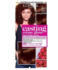 Casting Creme Gloss Conditioning Colour 443 Auburn Henna