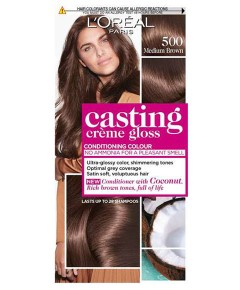 Casting Creme Gloss Conditioning Colour 500 Medium Brown