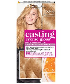 Casting Creme Gloss Conditioning Colour 8304 Sweet Honey