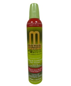 Mazuri  Olive Oil Styling And Conditioning Hair Mousse
