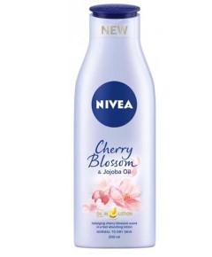 Nivea Cherry Blossom And Jojoba Oil Body Lotion Normal To Dry Skin