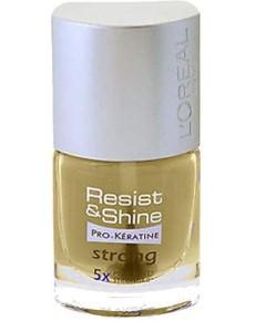 Resist And Shine Pro Keratin 5X Strong Nail Varnish