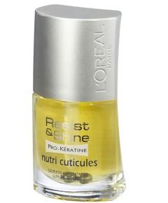 Resist And Shine Pro Keratin Nutri Cuticules Nail Varnish