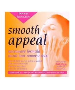 Smooth Appreal Microwave Formula Facial Hair Remover Wax