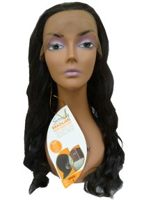 Brazilian Remi Deep Part Blended HH Spice Swiss Lace Wig