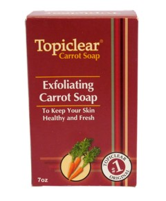 Topiclear Exfoliating Carrot Soap