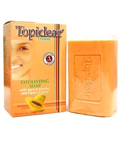 Topiclear Papaya Exfoliating Soap