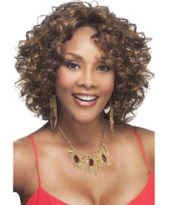 Pure Stretch Cap Syn Chilli V Deep Lace Front Wig