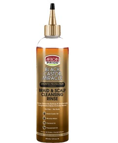 Black Castor Oil Miracle Braid And Scalp Cleansing Rinse