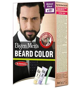 Mens Beard Colour Natural Black B101