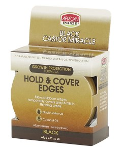 Black Castor Miracle Hold And Cover Edges
