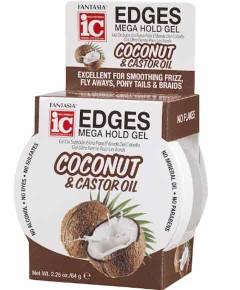 Edges Mega Hold Gel Coconut And Castor Oil