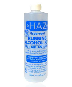 Isopropyl Rubbing Alcohol First Aid Antiseptic