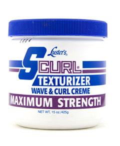 S Curl Texturizer Wave Curl Creme Maximum Strength