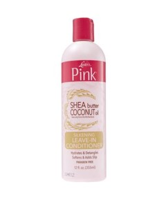Pink Shea Butter Coconut Oil Leave In Conditioner