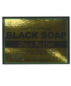 Sunflower Original African Shea Butter Black Soap
