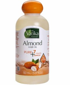 Vatika Naturals Almond Pure 7 Herb Complex Hair Oil