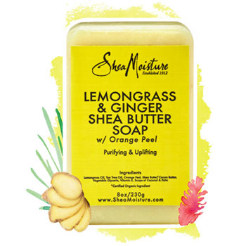 Shea Moisture Lemongrass And Ginger
