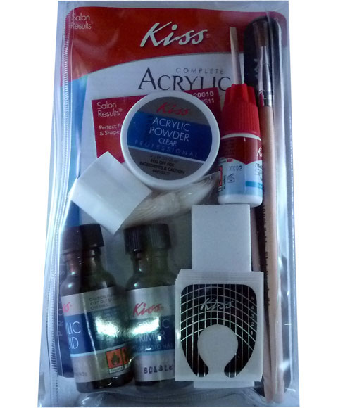 Artificial Nails | Kiss Complete Acrylic Sculpture Kit AK100