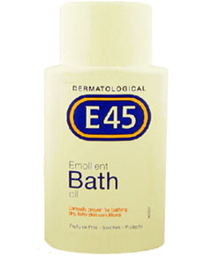 E45 Dermatological Emollient Bath Oil