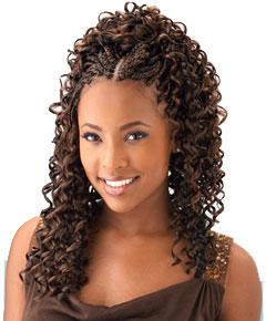 Box Braids with Human Hair