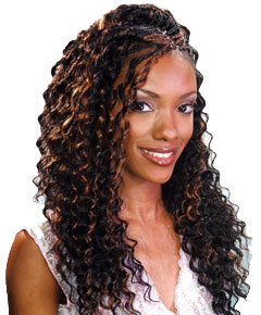 Shake N Go, FreeTress Syn Deep Twist Bulk are synthetic hair braiding